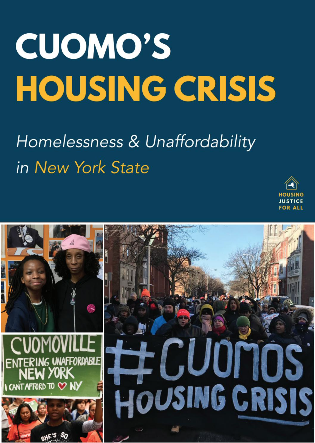 Cuomo's Housing Crisis: Homelessness & Unaffordability in New York State