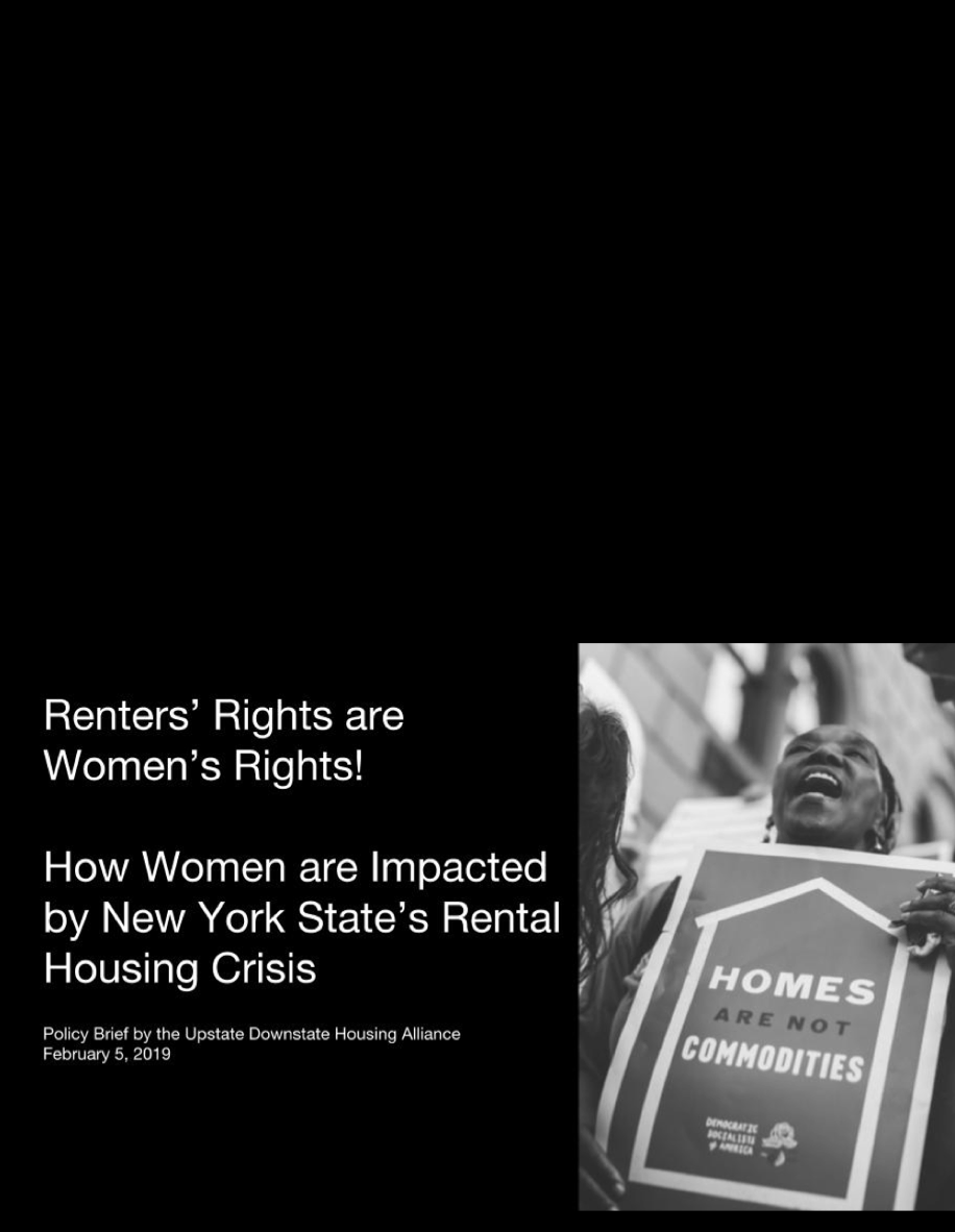 Renters' Rights are Women's Rights